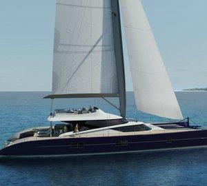 New Blue Coast 101' DD Yacht under construction
