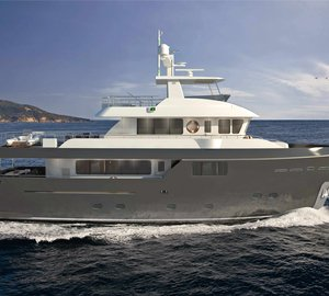 Sale of new motor yacht Darwin Class 107' announced by Cantiere delle Marche