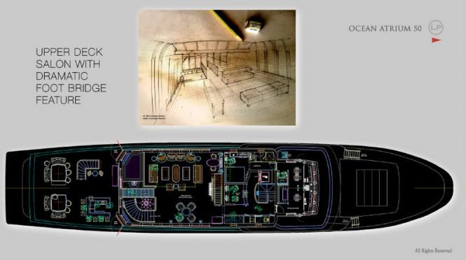 OA 50 Yacht Concept - Upper Deck Salon