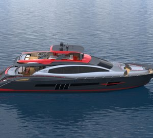 Debut of new motor yacht LSX95 by Lazzara at 2013 FLIBS