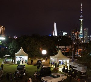 Participation of Riva in the Bund Classic 2013 in Shanghai