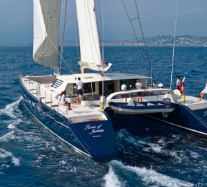 PANAMA YACHT CHARTER and World Tour for luxury sailing catamaran ROSE OF JERICHO