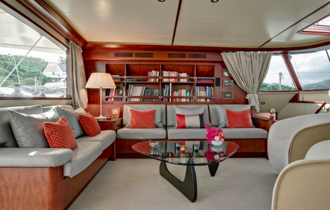 Rose of Jericho Catamaran yacht - Photo Nicolas Claris - Interior