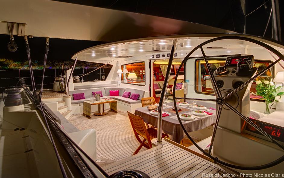 Rose of Jericho yacht - Photo by Nicolas Claris