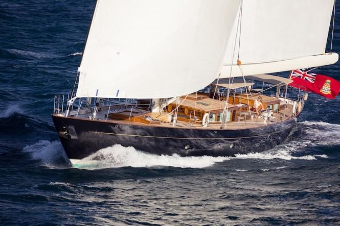 Royal Huisman Pumula superyacht - Photo by Cory Silken