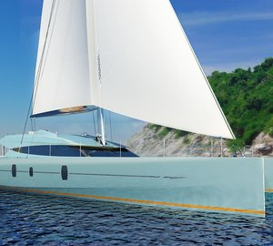 New sailing yacht Blue Coast 78' by Blue Coast Yachts in build