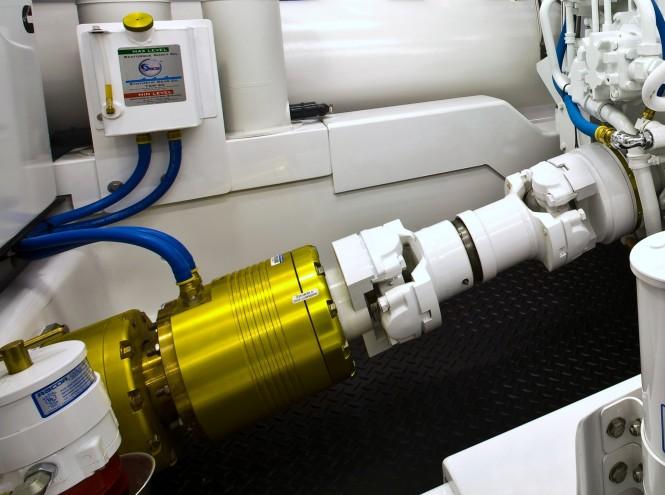 Seatorque Control System for  Hemisphere 140 yacht Raffaella II