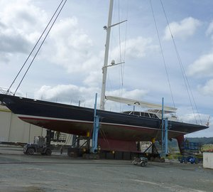 Extensive 3-month refit for INMOCEAN Yacht at Oceania Marine
