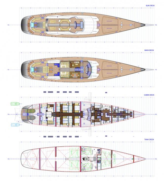 Troy Yacht - Layout