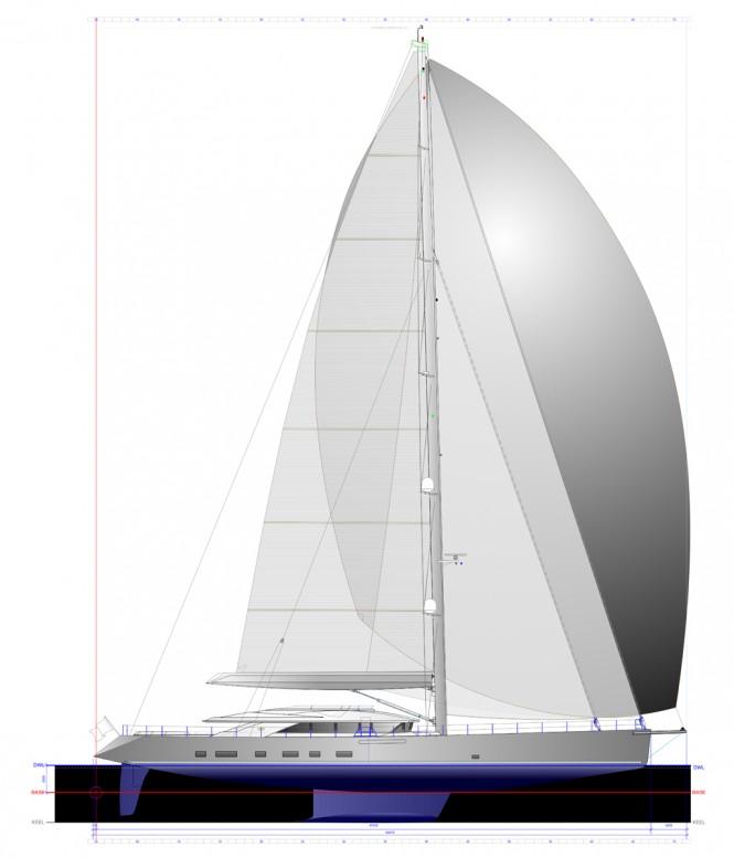 Troy Yacht - Plan