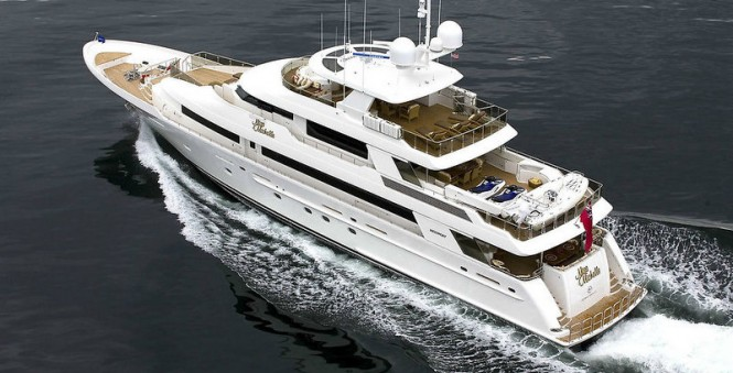 Westport 130 luxury yacht Miss Michelle (hull 4001) - a sistership to Fruition Yacht