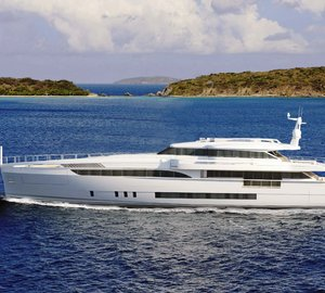 First unit of Wider 150' Yacht under construction at Wider Yachts