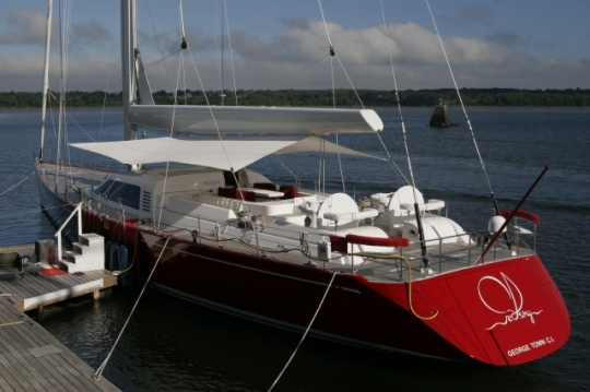 100' Nautor Swan superyacht Red Sky