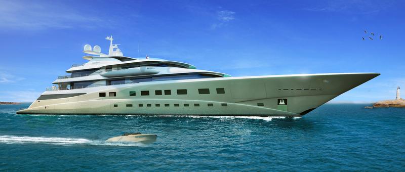 105m Oceanco mega yacht DANA (DP017)