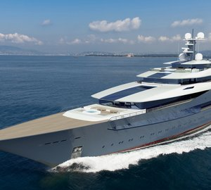 Breath-taking 105m mega yacht COMMODORE (DP030) design by Oceanco and Azure NA