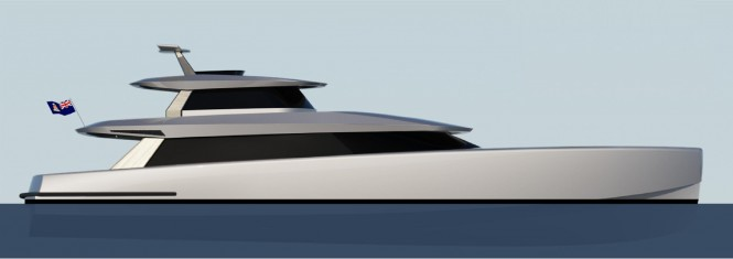 24m Yacht Fisherman Concept by Fifth Ocean Yachts and Brilliant Boats