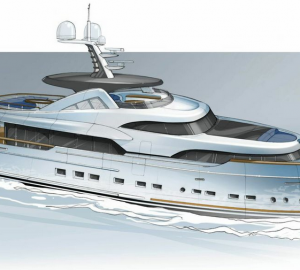 New 34m Mulder Yacht with naval architecture by Van Oossanen NA