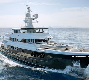 Alloy superyacht CaryAli wins 2013 ISS Design Award