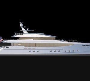 New 35m RPH motor yacht design by Burger Boat Company and Gregory C. Marshall