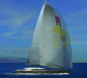 First images of 50m sailing yacht TROY unveiled by Esenyacht