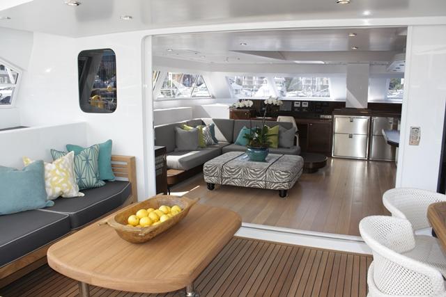 Aboard Open Ocean 750 Yacht HQ2