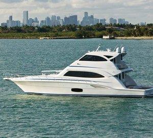 Bertram 70 Convertible Yacht made to raise fish
