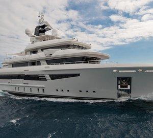 New 50m explorer yacht I-NOVA by Cosmo Explorer and Cristiano Gatto