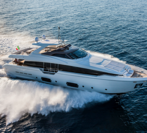 Top yacht brands from Ferretti Group at Qatar International Boat Show 2013