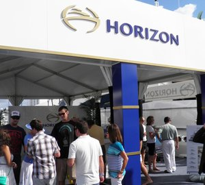 A very successful Ft. Lauderdale Boat Show 2013 for Horizon Yachts