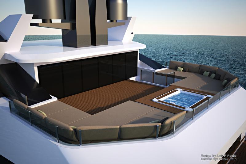 LOFT74 Yacht Concept