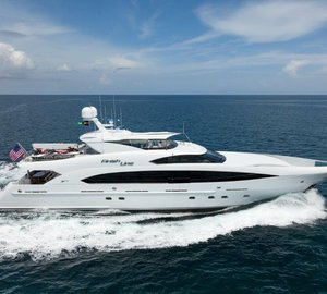 US debut for Trinity motor yacht FINISH LINE at FLIBS 2013
