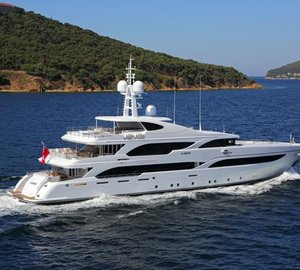 Proteksan Turquoise nominated for IY&A Award 2014 with motor yacht ILERIA
