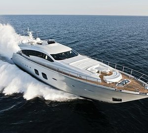 Delivery of third Pershing 108 motor yacht LEVANTINE II
