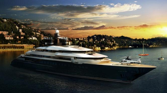 Luxury motor yacht RIALTO design