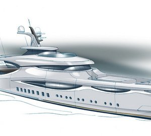 New 59m motor yacht METEORA concept designed by Claydon Reeves for Pendennis