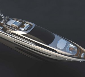 Presentation of Riva 122' motor yacht MYTHOS at Qatar International Boat Show