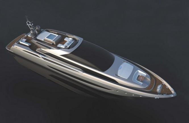 Riva 122 superyacht Mythos