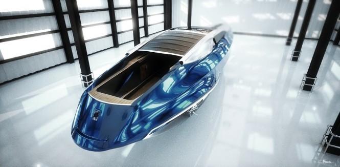 Rolls-Royce 450EX student project by Stefan Monro