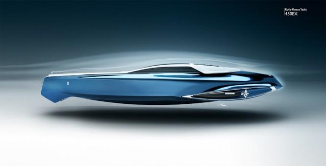 Rolls-Royce 450EX yacht project by Stefan Monro - Profile