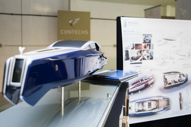 Rolls-Royce 450EX yacht tender model by Stefan Monro
