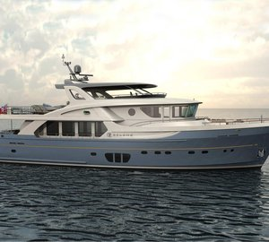 New explorer motor yacht Selene 92 with delivery in Spring 2015