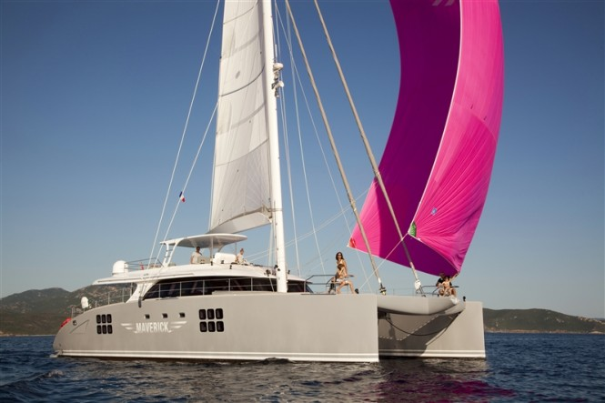 Sunreef 70 charter yacht MAVERICK to be displayed at the 2013 Antigua Charter Yacht Show
