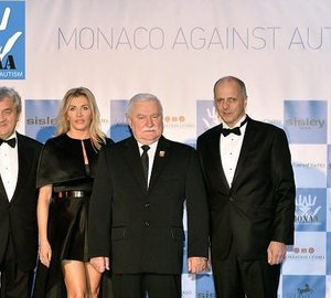 Prominent MONAA Fund Raising Event in Monaco attended by Sunreef Yachts