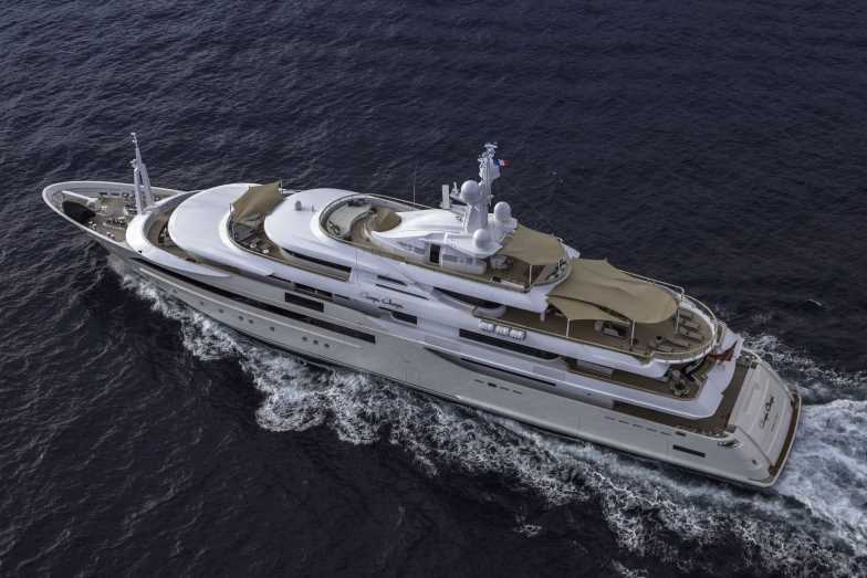 Superyacht Chopi Chopi - upview