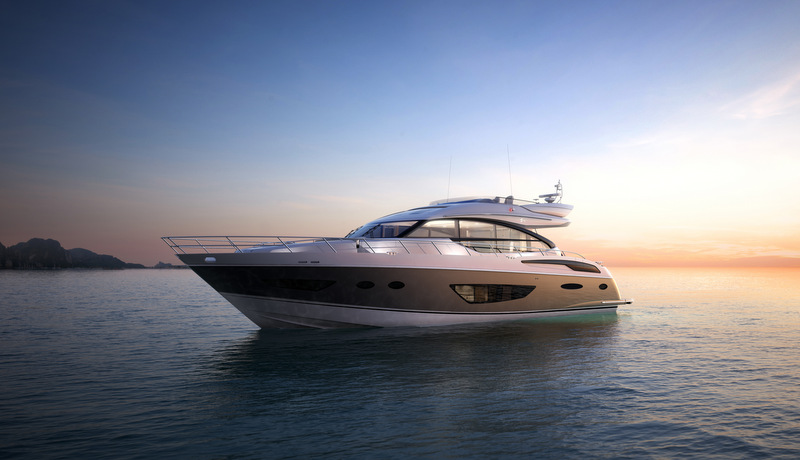 New luxury yacht Princess S72 by Princess Yachts