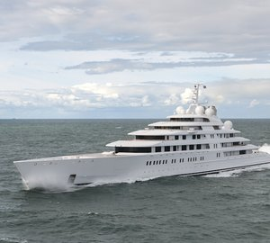 Newly delivered 180m Lurssen Yacht AZZAM designed by Nauta Yachts
