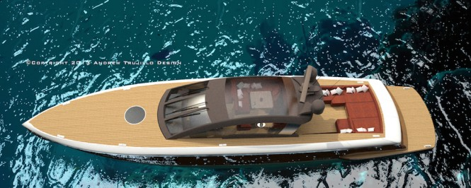 25m Wooden Luxury Motor Yacht Concept by Andrew Trujillo