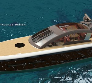 Latest 25m Wooden Motor Yacht Concept by Andrew Trujillo