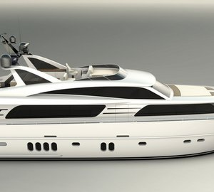 New 25m motor yacht Contintental III 25.00 RPH by Wim van der Valk