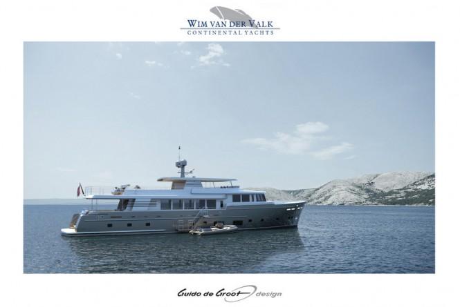 Guido de Groot-designed 37M Continental Trawler Yacht by Wim